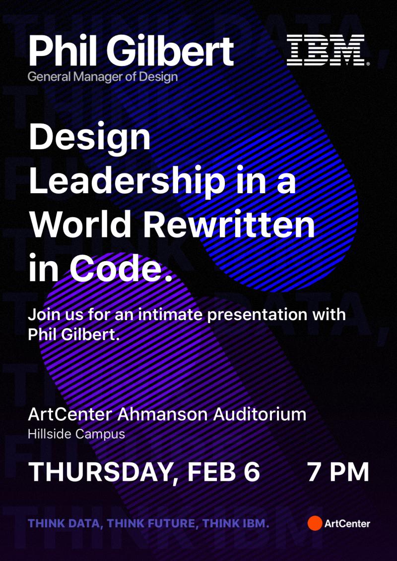 Design Dialogue: Phil Gilbert